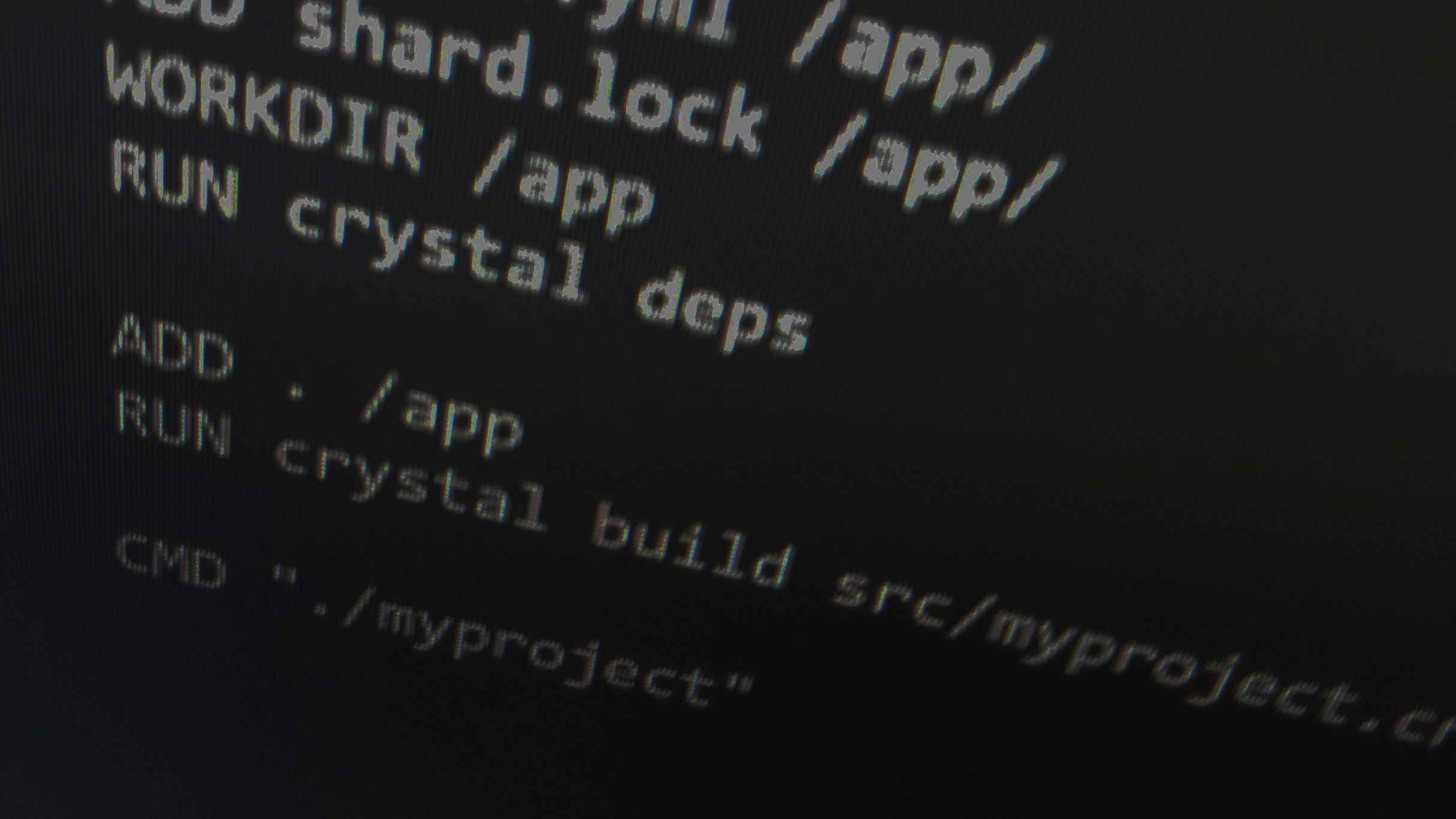 Crystal docker