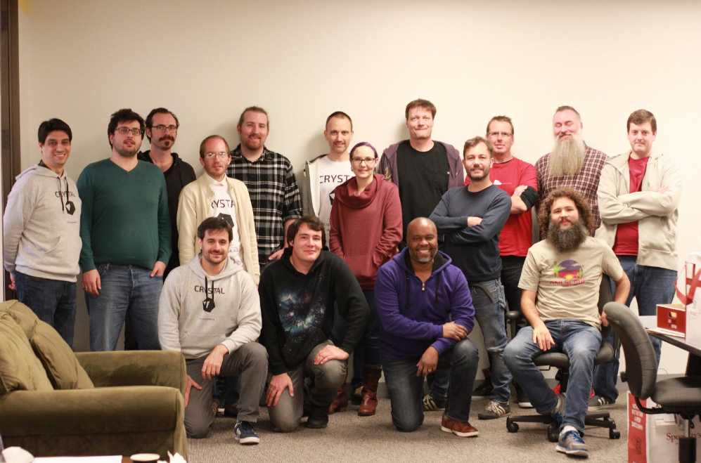 Crystal codecamp participants